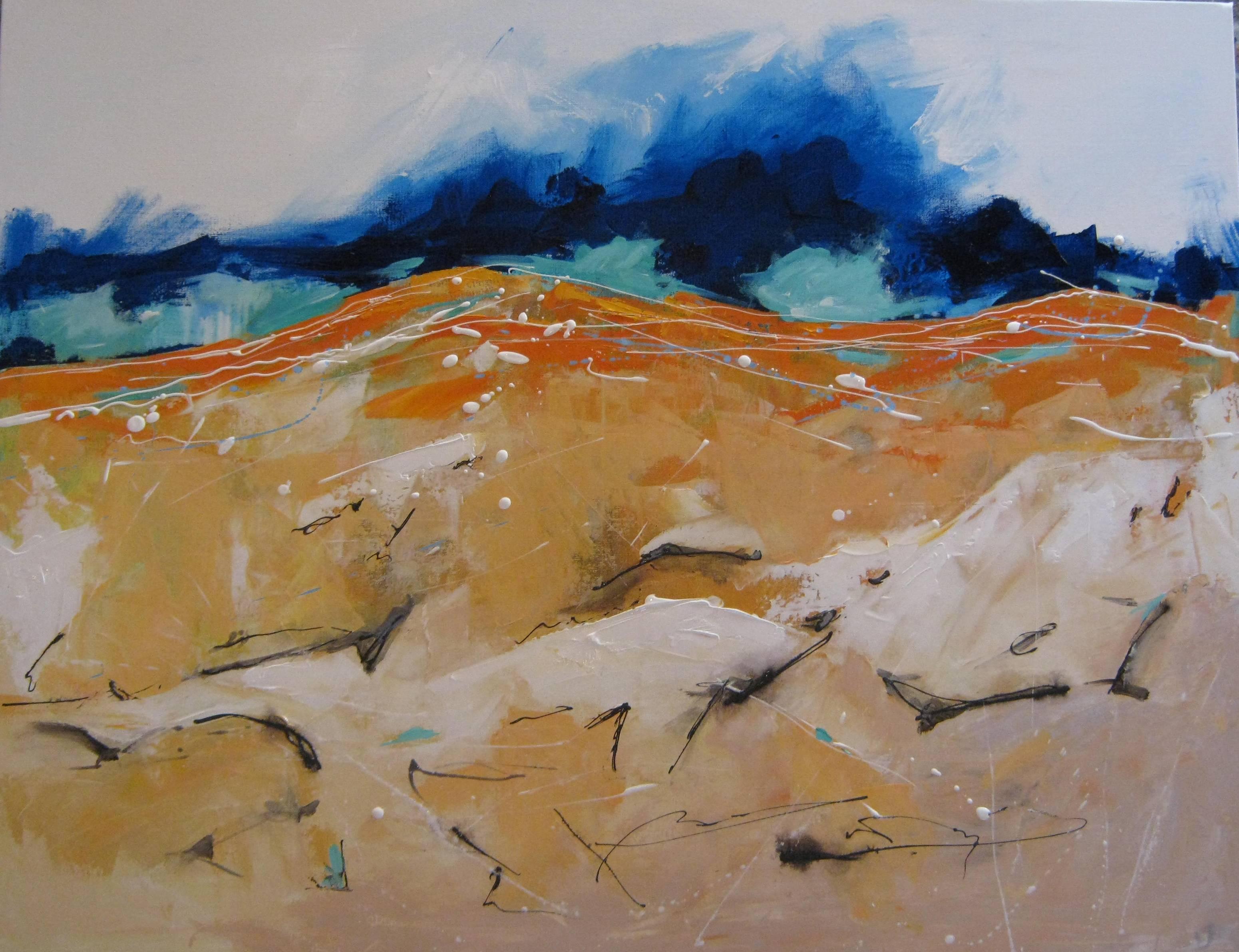 PAINTING BY GEORGE HAYWARD KALAMUNDA WESTERN AUSTRALIA LAND OF CONTRASTS